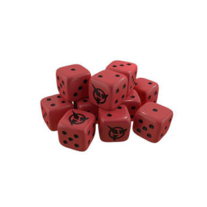 Star Trek Ascendancy Expansion: Dice Klingon (x10)