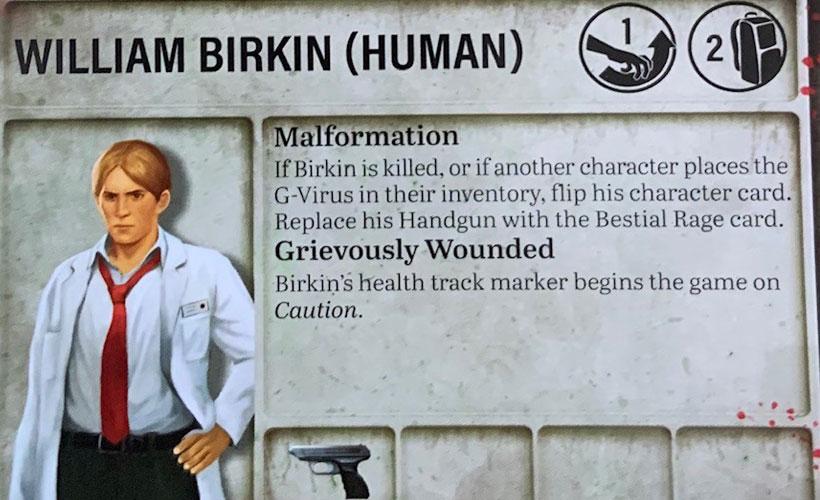 Survival Horror Expansion - William Birkin Character