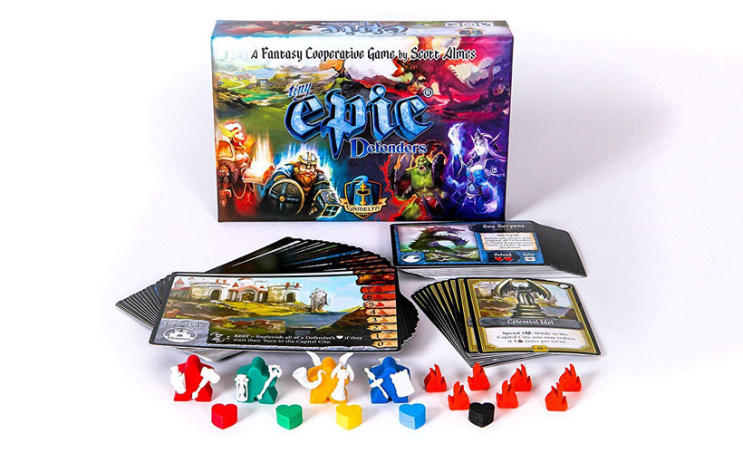 Tiny Epic Defenders Second Edition Board Game