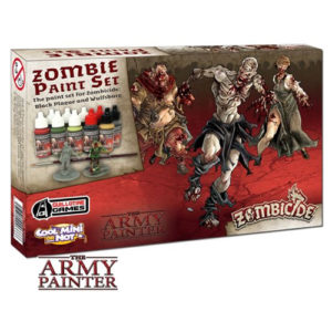 Warpaints Zombicide Black Plague Paint Set