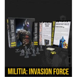Batman Miniature Game: Militia: Invasion Force Bat-Box