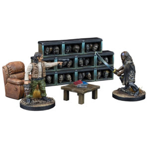 The Governor's Trophy Room - The Walking Dead: All Out War Expansion