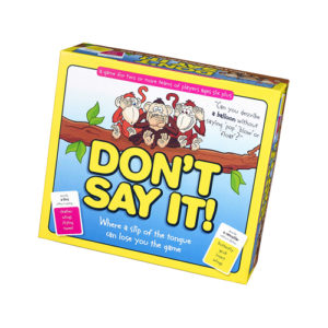 Don't Say It