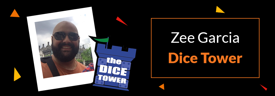 Q&A with Dice Tower's Zee Garcia