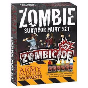 Zombie Toxic/Prison Paint Set