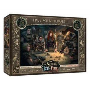 A Song Of Ice and Fire Expansion: Free Folk Heroes Box 1