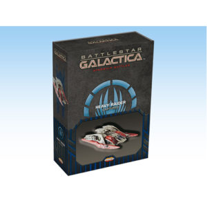 Battlestar Galactica Starship Battles Spaceship Pack: Cylon Heavy Raider (Captured)