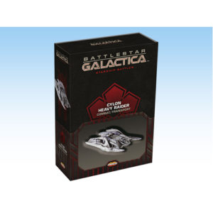 Battlestar Galactica Starship Battles Spaceship Pack: Cylon Heavy Raider (Combat/Transport)