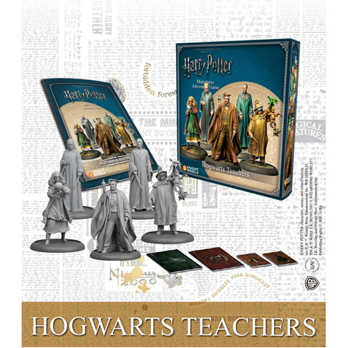 Hogwarts Teachers Exp Harry Potter Miniatures Adventure Game (HPM)