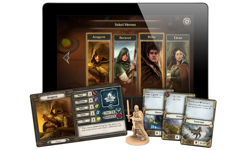 Lord of the Rings: Journeys in Middle-earth - App Components
