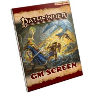 Pathfinder RPG Second Edition (P2): Pathfinder GM Screen