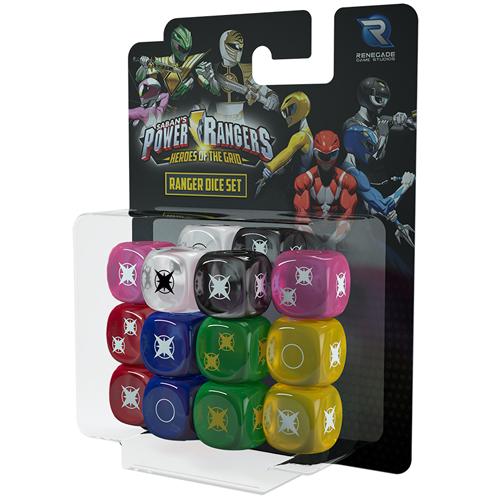 Power Rangers: Heroes of the Grid: Ranger Dice Set