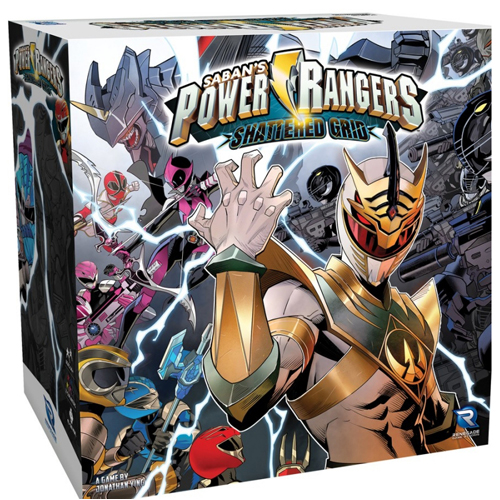Power Rangers: Heroes of the Grid: Shattered Grid Expansion