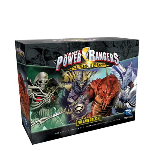 Power Rangers: Heroes of the Grid: Villian Pack #1