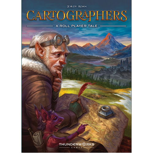 Roll Player: Cartographers Expansion