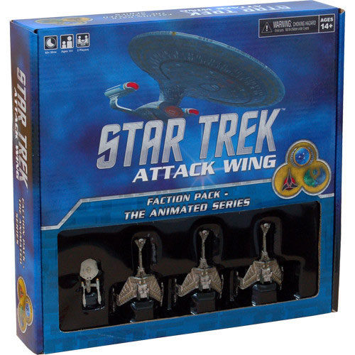 Star Trek Attack Wing Federation Faction Pack To Boldly Go