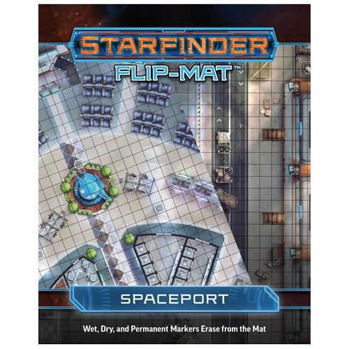 Starfinder Flip-Mat Starship: Spaceport