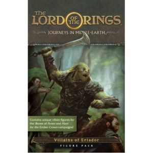 The Lord of the Rings: Journeys in Middle-Earth Board Game: Villains of Eriador