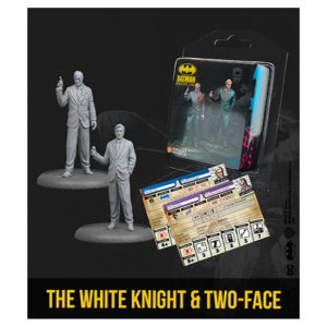 Batman Miniatures Game: The White Knight and Two-Face