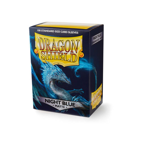 Dragon Shield Matte: Night Blue