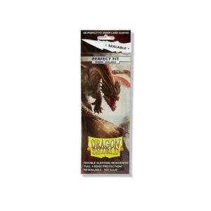 Dragon Shield Perfect Fit Sealable: Smoke