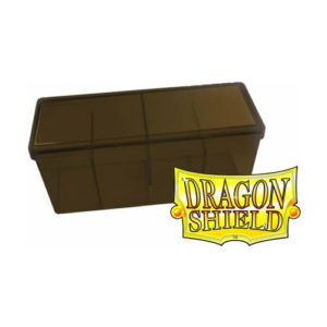 Dragon Shield Storage Box With 4 compartments: Gold