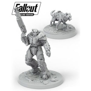Fallout: Wasteland Warfare- X-01 Survivor & Dogmeat