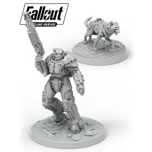 Fallout: Wasteland Warfare- X-01 Survivor & Dogmeat