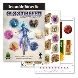 Gloomhaven: Forgotten Circles Removable Sticker Set