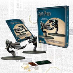 Harry Potter Miniatures Adventure Game- Death Eaters on Broom Expansion
