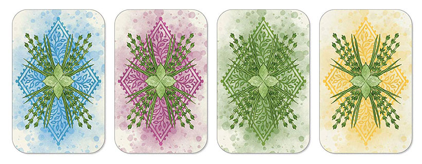 Herbaceous Sprouts - Card Artwork