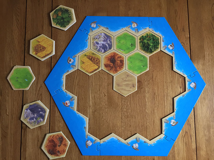 How to Play Catan - Modular Board and Tiles