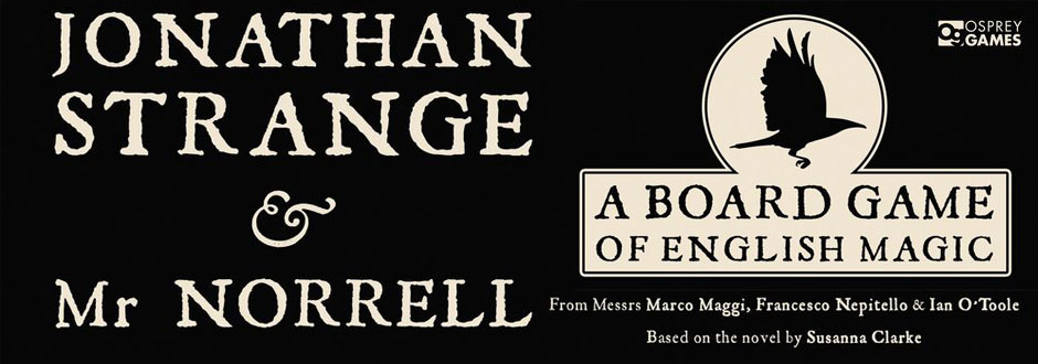 Jonathan Strange and Mr Norrell - A Board Game of English Magic Review