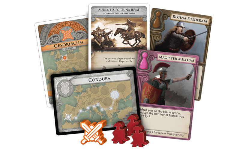 Pandemic: Fall of Rome - Cards