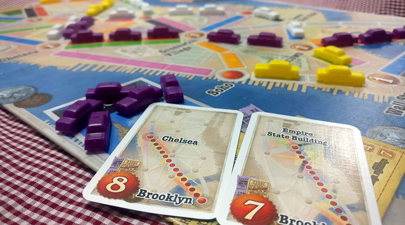 Picnic Games - Ticket to Ride New York
