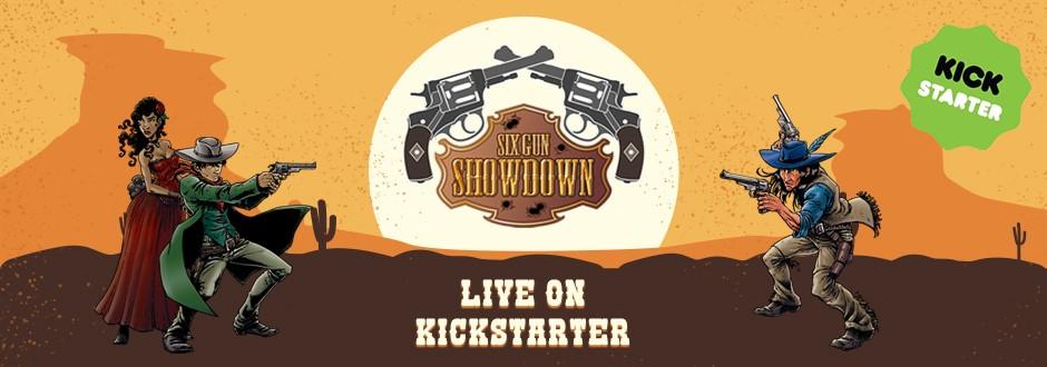 Six Gun Showdown - Kickstarter Preview