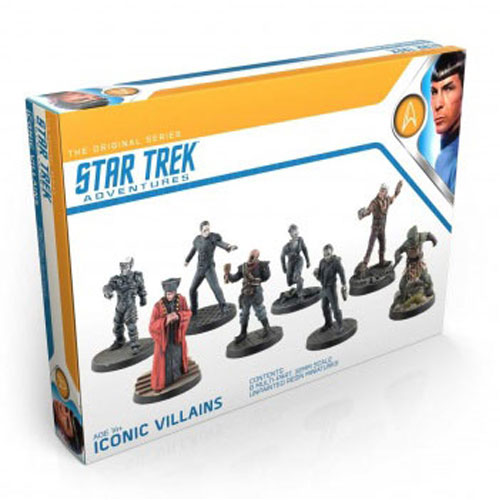 Star Trek Adventures RPG: Iconic Villains 32mm Miniatures