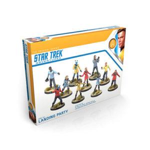 Star Trek Adventures RPG: The Original Series Landing Party 32mm Miniatures