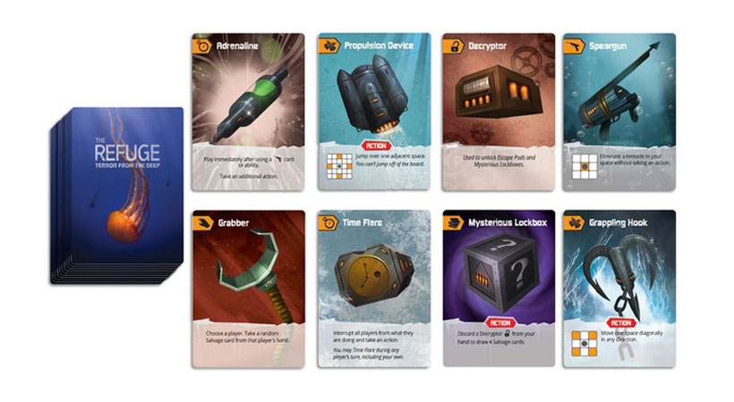 The Refuge: Terror from the Deep - Salvage Cards