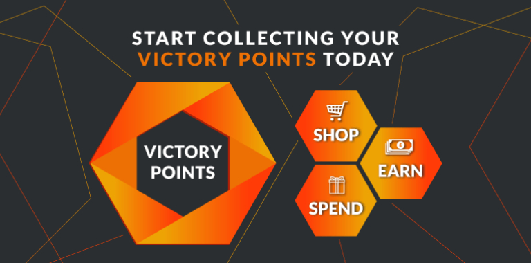 Start Collecting Victory Points Today