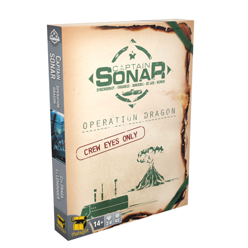 Captain Sonar: Upgrade 2 Operation Dragon