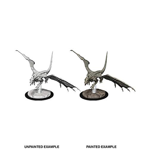 D&D Nolzur's Marvelous Unpainted Miniatures: Young White Dragon