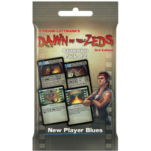Dawn of the Zeds (3rd Edition) Expansion Pack 2: New Player Blues
