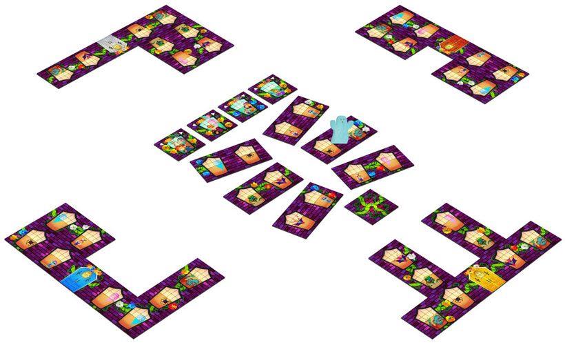 Dead & Breakfast Review - Game Layout