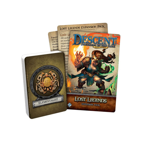 Descent: Journeys in the Dark 2nd Edition- Lost Legends Expansion