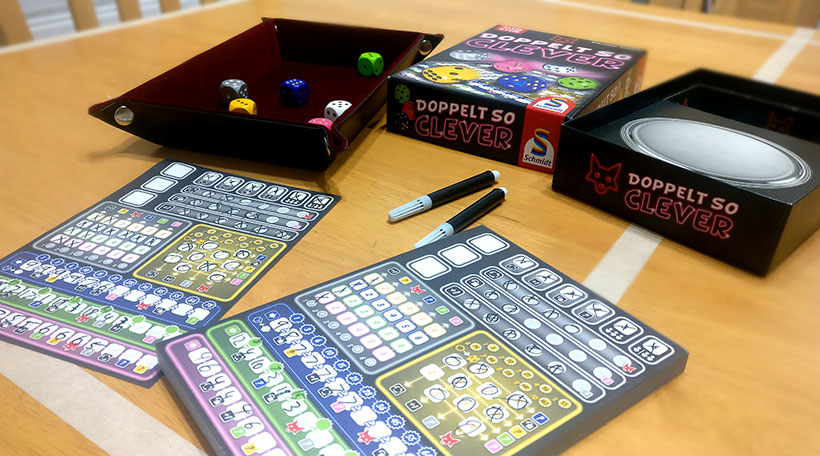 Doppelt So Clever Board Game