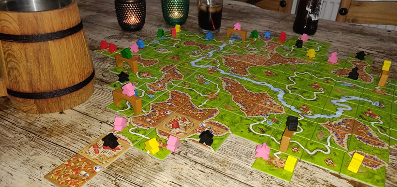 Games for the Pub - Carcassonne