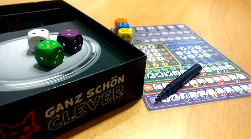 Games with Satisfying Combos - Ganz Schön Clever