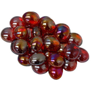 Gaming Stone Colors: Crystal Red Iridized