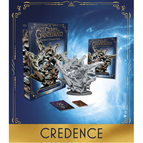 Harry Potter Miniatures Adventure Game: Credence Barebones Expansion